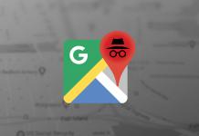 Google Haritalar Gizlilik Modu