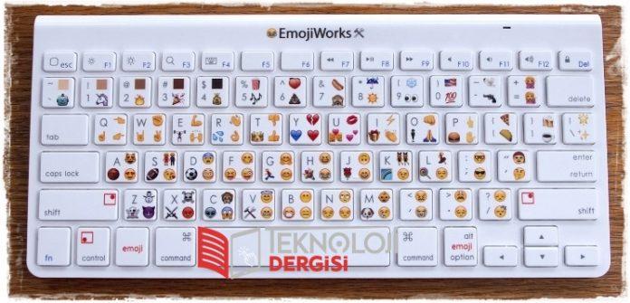 Klavyeler Emoji Tuşlu oluyor 2019