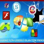 Her Bilgisayarda Bulunması Gereken Programlar 2020