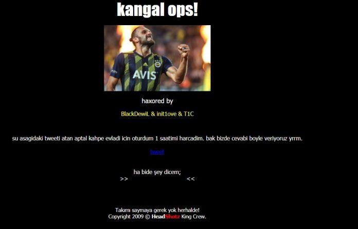 Demirgrup Sivasspor'un resmi sitesi hacklendi 2019